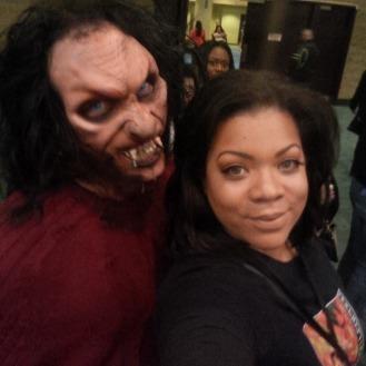 Ash with werewolf