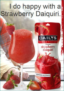 Daily's Strawberry Daquiri