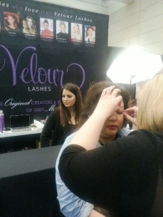 IMATS 2014 - Velour booth (1)