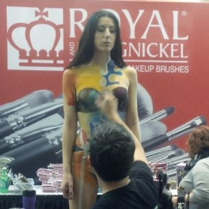 Royal and Langnicket at IMATS
