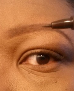Eyebrow tutorial (10) - apply brow pen