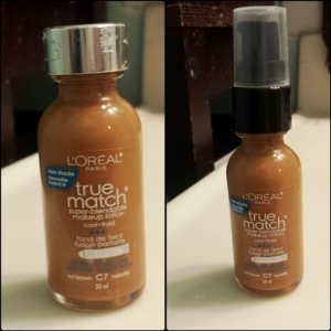 L'Oreal True Match foundation pump
