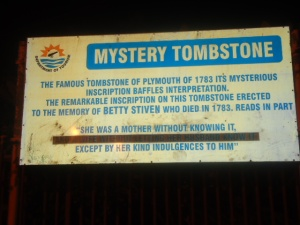 Mystery Tombstone