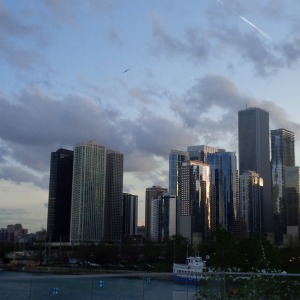 chicago from pier