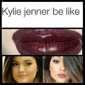 Kylie be like