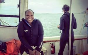 Shark diving in Gansbaai, South Africa (5)